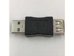 2 Pieces USB Extender 2.0 Male to Female Adapter USB Cable Extention 0 Degree in 360 Degree out Connector 1Pcs,<=0.5m