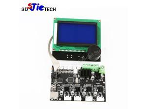 CREALITY 3D Printer Parts 12864 LCD Display +Control Motherboard Mainboard For CREALITY CR-10 3D Printer