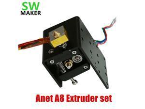 1set Anet A8 Head MK8 Extruder Motor J-head Hotend single nozzle head extrusion 1.75mm for Reprap 3D printer parts