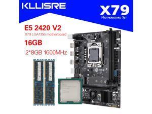 Kllisre X79 LGA 1356 motherboard set with Xeon E5 2420 V2 2x8GB=16GB 1600 DDR3 ECC memory