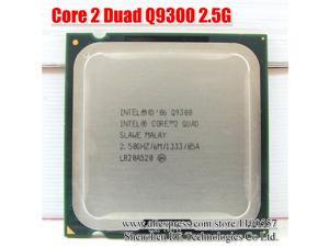 INTEL CORE 2 QUAD Q9300 Processor 2.5GHz 6MB Cache FSB 1333 Desktop LAG 775 CPU