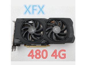 XFX RX 480 4GB 256bit GDDR5 desktop pc gaming graphics cards video card not mining 480-4G