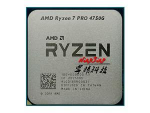 AMD Ryzen 7 PRO 4750G R7 PRO 4750G 3.6 GHz Eight-Core Sixteen-Thread 65W CPU Processor L3=8M 100-000000145 Socket AM4