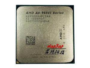 AMD A6-Series A6-9500E A6 9500E 3.0 GHz Dual-Core CPU Processor AD9500AHM23AB / AD950BAHM23AB Socket AM4 satmak A6 9500