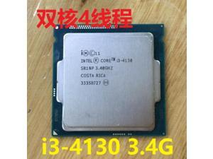 Intel Core i3 4130 I3-4130 i3-4130 3.40GHz 512KB/3MB Socket LGA1150 Haswell CPU Processor SR1NP i3 4130 in stock