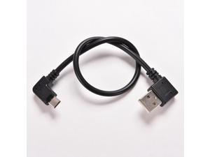 Micro Right Angle USB Data Cable 5 Pin Micro Male to 2.0 A Male Data Sync Charger Cable Converter 90 Degree Adapter SP Right 1PC