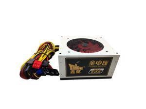 600W Power Supply PSU PFC Silent Fan ATX 24pin 12V PC Computer SATA Gaming PC Power Supply For Intel AMD Computer 110V 220V