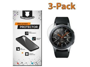 For  Galaxy Gear S3 Frontier Screen Protector Film PET Clear [3-PACK]