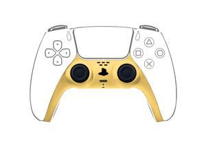Decorative Strip for PS5 Dualsense Controller, Ackmioxy PS5 Accessories DIY PS5 Controller Replacement Shell Color Replacement Decoration Accessories for PS5 Controller Panel (Yellow)