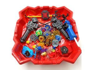 2020  12pcs beyblade burst +6pcs launcher+2pcs handle bar+1pcs red beystadium spinning top as children day toys