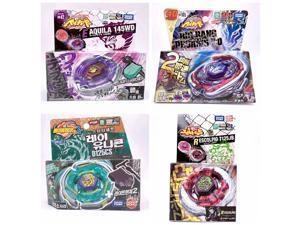 4PCS/Lot TAKARA TOMY BEYBLADE BURST With Launcher original box as children's toys