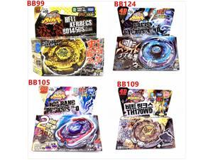 4Pcs/Lot Takara Tomy Beyblade Burst BB99 BB105 BB124 BB109 with launcher and original box As children's day gifts