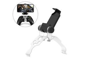 Xbox Controller Phone Holder, Joso Controller Mobile Gaming Clip for Xbox Series X/S, XSX, XSS, Xbox One, Xbox One S/X, Support iPhone, Android System with One Cast APP with 2 Thumb Grip Caps