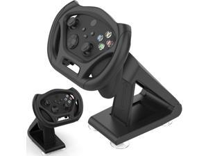 Racing Game Steering Wheel Set Bracket with 4 Table Suction Cup, Suitable for Microsoft Xbox Series S/X, Xbox One/Xbox One S/Xbox One X Controller