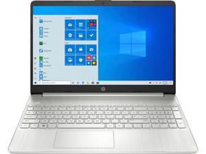 """HP - 15.6"""" Touch-Screen Laptop - AMD Ryzen 5 - 12gb Memory - 256GB SSD - Natural Silver-15-EF0023DX"""