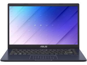"ASUS Laptop L410 Ultra Thin Laptop, 14"" FHD Display, Intel Celeron N4020 Processor, 4 GB RAM, 64 GB Storage, NumberPad, Windows 10 Home in S Mode, Star Black, L410MA-DB02"