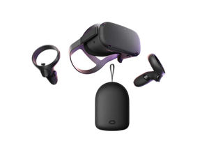 Oculus Quest VR Headset 128GB bundle with Travel Case Bundle