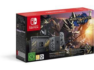 2021 Nintendo Switch Console - Edition Monster Hunter Rise bundle