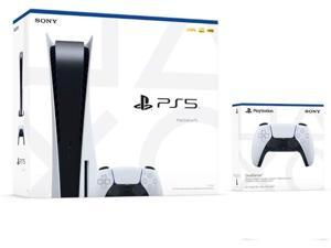 Playstation 5 Disc Console with additional DualSense Controller