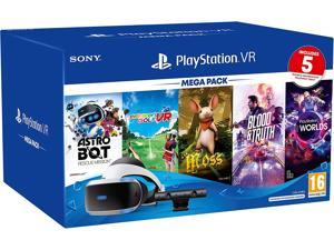PlayStation VR Mega Pack Five-Game bundle-ASTRO Bot rescue mission, Everybody's golf VR, Moss, Blood and truth and PlayStation VR Worlds