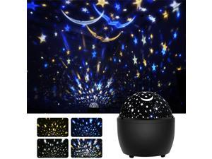 Star Night Light Projector For Kids Starry Sky Projector Light With 360 Degree Rotating Color Changing Nursery Lamp