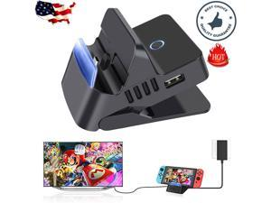 Portable HDMI TV Docking Station Charging Dock Replacement for Nintendo Switch