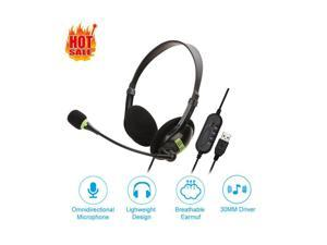 SY440MV Headset Telephone Headset with Noise Cancelling Microphone Compatible Plus Extra 3.5mm Connector