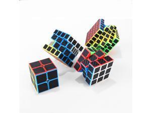 Kids Cute Speed Magic Cube Professional Puzzle Toys Rubiks Cube Magic Toys 3 x 3 x 3(2)
