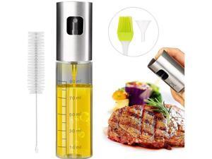 Oil Mister Dispenser Bottle for Kitchen Vinegar Spraying Cooking Baking, BBQ, Salad, Barbecue Grilling