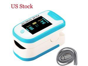 Fingertip Pulse Oximeter, Blood Oxygen Meter, Oxygen Meter Portable Digital Blood Oxygen Pulse Sensor Meter with Alarm and Pulse Rate Monitor for Adults and Children