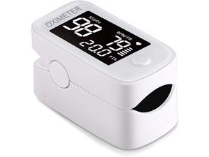 Finger Blood Oxygen Saturation Monitor | Fingertip SpO2 Pulse Heart Rate Activity Tracker LED Display