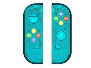 1 Pair for Nitendo switch NS JoyCon Joy Con Controller Housing Shell Case for NintendoSwitch Clear Cover