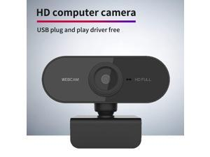 Full HD Webcam for PC/Laptop/Tablet HD 1080P Webcam PC Laptop Camera with Microphone Web Camera Wide Screen Video Calling