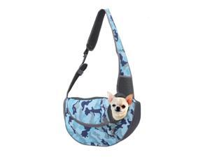 Dog Carrier Sling Front Pack Cat Puppy Carrier Purse Breathable Mesh Travel for Small or Medium Pet Dogs Cats Sling Bag