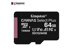 Kingston SDCS2 Class 10 High Speed 64GB Micro SD Card / TF Card Memory Card for Smartphones, Dashcam