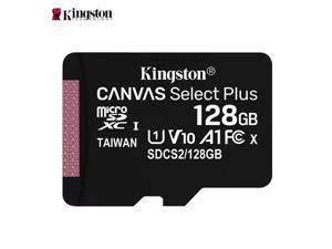 Kingston SDCS2 Class 10 High Speed 128GB Micro SD Card / TF Card Memory Card for Smartphones, Dashcam