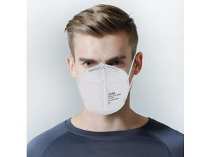 10pcs FFP2 Protective Mask Anti-dust Outdoor Mouth Mask respirator(Ship from US))