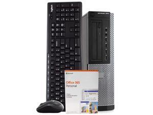 Dell OptiPlex 7010 Desktop Computer PC, 3.30 GHz Intel i7 Quad Core Gen 3, 8GB DDR3 RAM, 500GB Hard Disk Drive (HDD) SATA Hard Drive, Windows 10 Professional 64bit