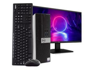 "Dell OptiPlex 3040 PC Desktop Computer, Intel i5-6500 3.2GHz, 16GB RAM, 512GB SSD, Windows 10 Pro, New 23.6"" FHD LED Monitor, Wireless Keyboard & Mouse, New 16GB Flash Drive, DVD, WiFi, HDMI"