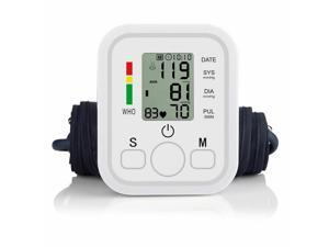 Automatic Digital LCD Arm Cuff Blood Pressure Pulse Monitor