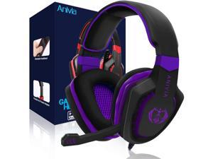 PS4 Gaming Headset, Headphone Compatible with New Xbox One, Gaming Headset Stereo Sound Headphone with Mic for PS4/PC/Mac/Tablet/Phone