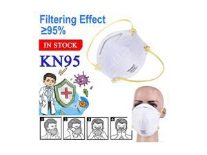 5pcs N95 Face Mask Head-mounted Pm2.5 KN95 Face Mask for Personal Protective Respirator