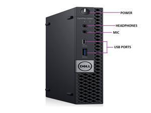 DELL 5060 MICRO Intel Core i5-8500 3.00 GHz, 8GB, 256GB SSD, Win 10 Pro
