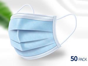 Disposable Face Mask Mouth Mask 50 Pcs
