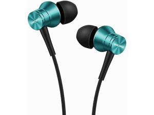 1MORE Piston Fit in-Ear Earphones Fashion Durable Headphones with 4 Color Options, Noise Isolation, Pure Sound, Phone Control with Mic for iPhone/Samsung/Android/PC/Tablet - E1009 Blue