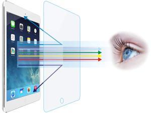 "Entwth 7.9""Anti Blue Light Tempered Glass Screen Protector[2 Pack] for iPad mini 1/mini 2/mini 3 7.9-inch[Eye Care,Relieve Eye Fatigue]Blocks Excessive Harmful Blue Light & UV 9H Anti Glare Anti-Scrat"