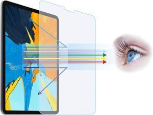 "Entwth 10.9""/11""Anti Blue Light Screen Protector[2 Pack] for iPad Air 10.9-inch(4th Gen) & iPad Pro 11-inch(2nd Gen/1st Gen)[Eye Care,Relieve Eye Fatigue]Blocks Excessive Harmful Blue Light & UV & Gla"