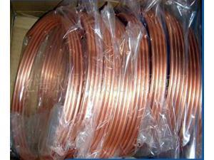 1 M tubo de Diâmetro 6.35mm * 0.7mm TPm2 Redcopper, ar-condicionado tubo de Cobre, DIY laptop CPU dissipador Heatpipe de cobre de bronze