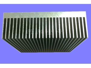 2pcs/lot 80*80*26.8MM High power radiator Power amplifier Aluminum Heat sink/AIO radiator/server heatsink block