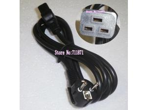 1.8M UPS Server European Power Cord JL301 Europe to C19 Power Line 16A/250V power supply cord 3X1.5mm square  Power Wire